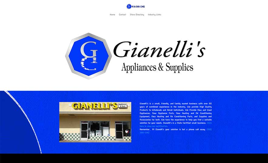 Gianelli's Appliances & Supplies