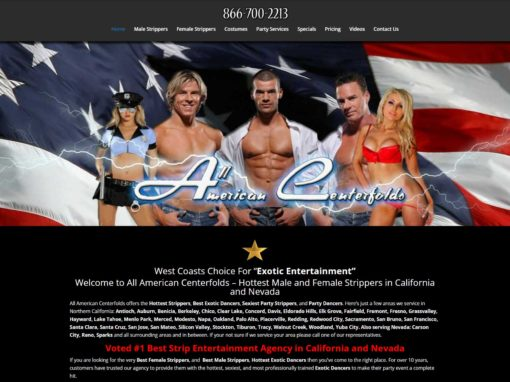 All American Centerfolds
